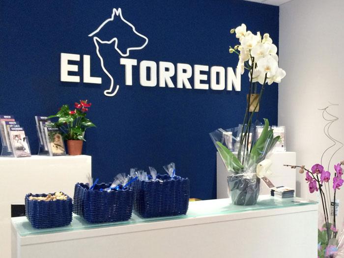 Recepción Clínica Veterinaria el Torreón